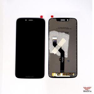 Изображение Дисплей Motorola Moto G7 Play в сборе черный