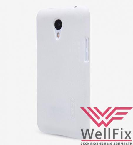 Чехол Meizu M1 Note белый (Nillkin, пластик)