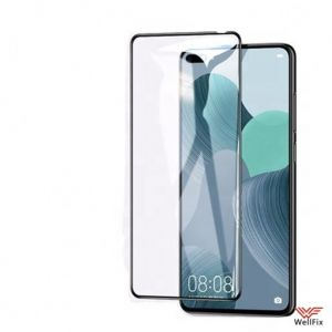 Изображение Защитное 3D стекло для Huawei Nova 6 / Honor V30 / Honor V30 Pro черное