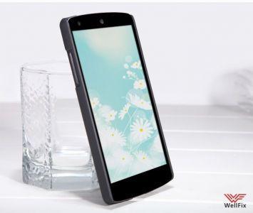 Изображение Пластиковый чехол для LG Nexus 5 D821 черный (Nillkin)