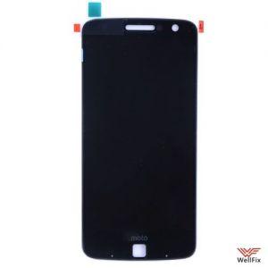 Изображение Дисплей для Motorola Moto Z в сборе черный