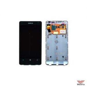 Дисплей Nokia Lumia 800 с тачскрином