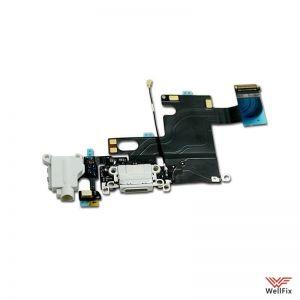 Шлейф для Apple iPhone 6 с разъемом зарядки белый