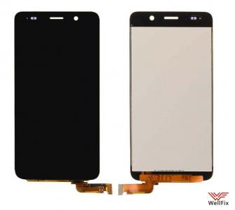Дисплей Huawei Ascend Y6 с тачскрином черный