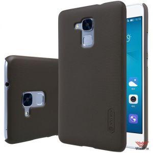 Изображение Пластиковый чехол для Huawei Honor 5c черный (Nillkin)