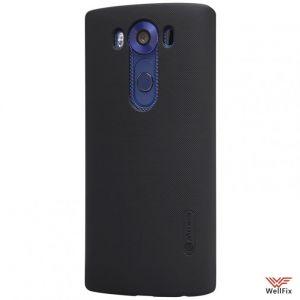 Чехол LG V10 черный (Nillkin, пластик)