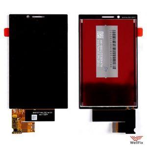 Изображение Дисплей для BlackBerry KEY2 в сборе черный
