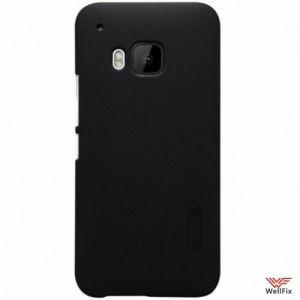 Изображение Пластиковый чехол для HTC One M9+ черный (Nillkin)