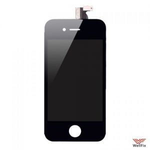 Дисплей Apple iPhone 4S с тачскрином черный