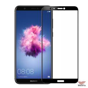 Изображение Защитное 3D стекло для Huawei P Smart черное