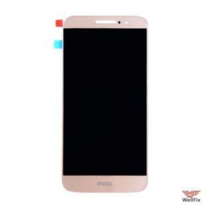Дисплей Motorola Moto M с тачскрином золотой
