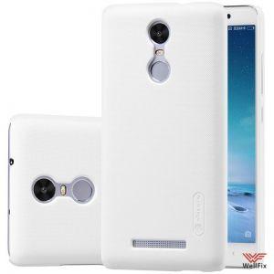Изображение Пластиковый чехол для Xiaomi Redmi Pro белый (Nillkin)