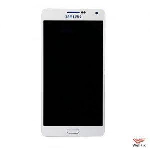Дисплей Samsung Galaxy A7 SM-A700F с тачскрином белый