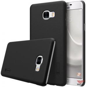 Изображение Пластиковый чехол для Samsung Galaxy C7 SM-C7000 черный (Nillkin)