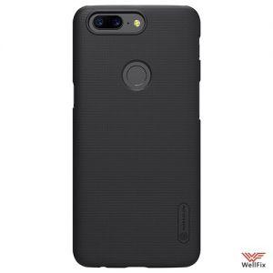 Изображение Пластиковый чехол для OnePlus 5T черный (Nillkin)