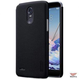 Изображение Пластиковый чехол для LG Stylus 3 M400DY черный (Nillkin)