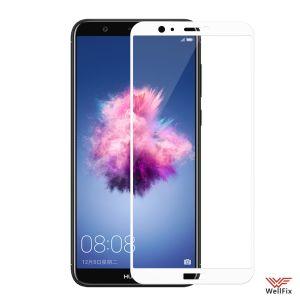 Изображение Защитное 3D стекло для Huawei P Smart белое