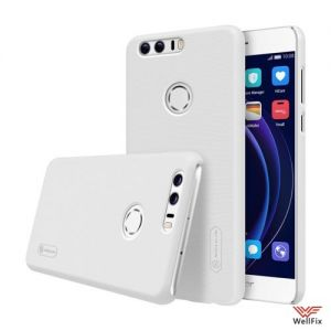 Изображение Пластиковый чехол для Huawei Honor 8 белый (Nillkin)