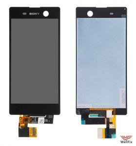 Дисплей Sony Xperia M5 с тачскрином черный