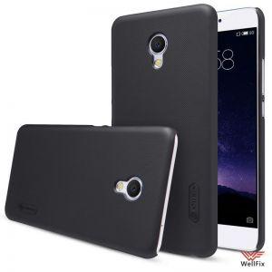Изображение Пластиковый чехол для Meizu MX6 черный (Nillkin)