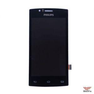 Изображение Дисплей для Philips S307 в сборе черный