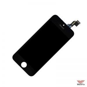 Дисплей Apple iPhone 5c с тачскрином черный