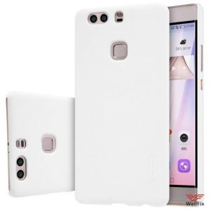 Чехол Huawei P9 Plus белый (Nillkin, пластик)