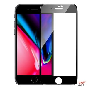 Изображение Защитное 5D стекло для Apple iPhone 7, 8 черное
