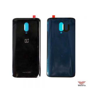 Изображение Задняя крышка для OnePlus 6T черная