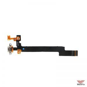 Шлейф Meizu Mx5 на разъем зарядки / микрофон