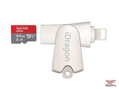 Изображение Кардридер 2 в 1 iDragon R005 Lightning / USB