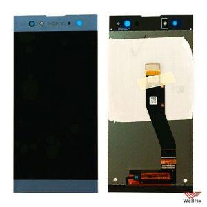 Изображение Дисплей Sony Xperia XA2 Ultra в сборе синий