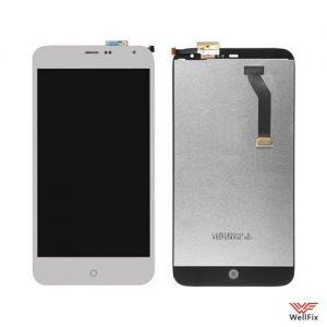Дисплей Meizu MX3 с тачскрином белый