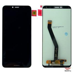 Изображение Дисплей для Huawei Y6 Prime в сборе черный
