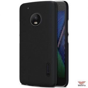 Изображение Пластиковый чехол для Motorola Moto G5 Plus черный (Nillkin)