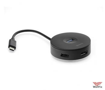Изображение USB-концентратор Baseus Round Box Type-C to 4хUSB