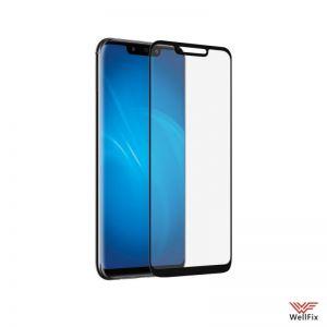 Изображение Защитное 3D стекло для Huawei Mate 20 Lite черное