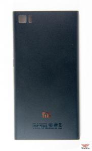 Крышка аккумулятора Xiaomi Mi3 (MiPhone 3) черная