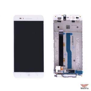 Дисплей ZTE Blade A610 с тачскрином белый