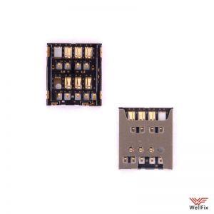 Изображение Коннектор сим карты Sony Xperia ZL L35h (c6502)