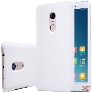 Изображение Пластиковый чехол для Xiaomi Redmi 4 белый (Nillkin)