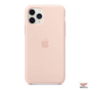 Изображение Силиконовый чехол для iPhone 11 бледно-розовый