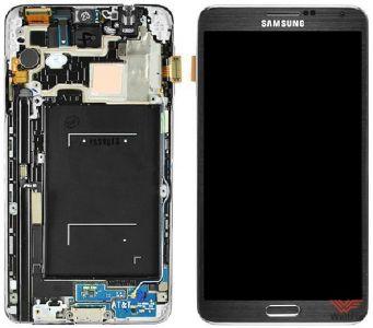 Дисплей Samsung Galaxy Note 3 SM-N900 с тачскрином черный