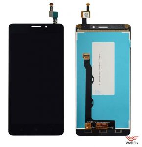 Дисплей Lenovo A5600 с тачскрином черный