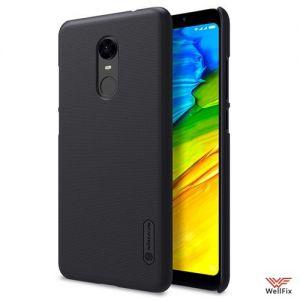 Изображение Пластиковый чехол для Xiaomi Redmi 5 черный (Nillkin)