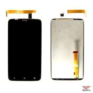 Дисплей HTC One X с тачскрином