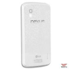 Крышка аккумулятора LG Nexus 4 E960 белая