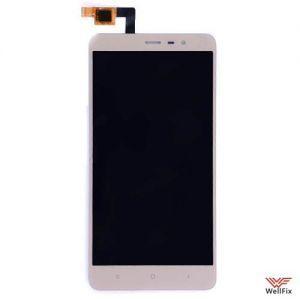 Изображение Дисплей Xiaomi Redmi Note 3 в сборе золотой