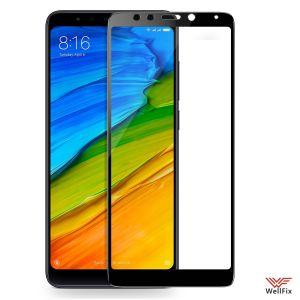 Изображение Защитное 3D стекло для Xiaomi Redmi 5 черное