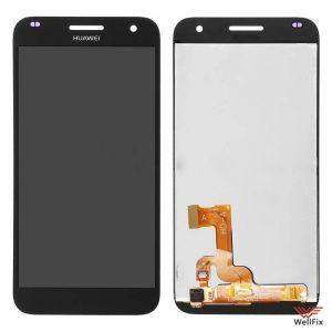 Дисплей Huawei Ascend G7 с тачскрином черный